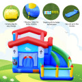 Kids Inflatable Bounce Slide Castle Ball Pit without Blower