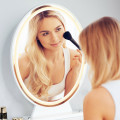 Hollywood Vanity Lighted Makeup Mirror Remote Control 4 Color Dimming
