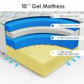 10 inch Queen Size Memory Foam Mattress Pad
