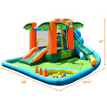 7 in1 Inflatable Slide Bouncer with Two Slides