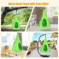 "32"" Kids Nest Swing Chair Hanging Hammock Seat for Indoor and Outdoor"
