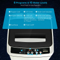 Full-Automatic Washing Machine 1.5 Cu.Ft 11 LBS Washer and Dryer