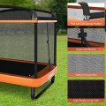 6FT Kids Entertaining Trampoline with Swing Safety Fence