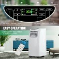 8,000 BTU Portable Air Conditioner with Sleep Mode and Dehumidifier Function