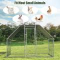 9.5' x 6.5' Large Walk In Chicken Run Cage