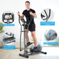 Elliptical Magnetic Cross Trainer with LCD Monitor and Pulse Sensor