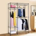 Portable Steel Closet Hanger Storage Rack Organizer
