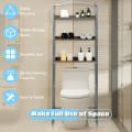 3-Tier Over-The-Toilet Bathroom Spacesaver Storage Rack