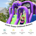 Inflatable Water and Sand Park Mighty Bounce House with Large Pool