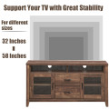 TV Stand Tall Entertainment Center Hold up