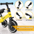 3 in 1 3 Wheel Kids Tricycles with Adjustable Seat and Handlebarfor Ages 1-3