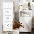 Bathroom Floor Cabinet with Adjustable Shelf