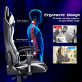 Gaming Chair Adjustable Swivel Racing Style Computer Office Chair