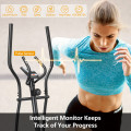 Elliptical Exercise Machine Magnetic Cross Trainer with LCD Monitor