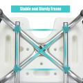 Adjustable Height U-Shaped Shower Chair