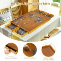 1500 Pcs Wooden Jigsaw Puzzle Table with 4 Drawers
