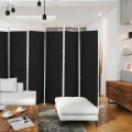 6-Panel Room Divider Folding Privacy Screen