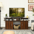 """63"""" TV Entertainment Console Center with 2 Cabinets"""