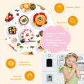 Kitchen Pretend Play Cookware Set Toys for Kids with Water Dispenser