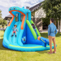 Inflatable Water Pool with Splash and Slide without Blower