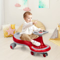 Wiggle Car Ride-on Toy with Flashing Wheels