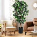 6 ft Artificial Ficus Silk Tree