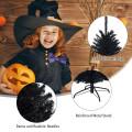 7.5Ft Hinged Artificial Halloween Christmas Tree