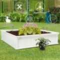 2 PCS Raised Garden Square Plant Box