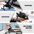 Portable Under Desk Bike Pedal Exerciser with Adjustable Magnetic Resistance