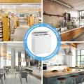 5.2 Cu.ft Chest Freezer Upright Single Door Refrigerator with 3 Baskets