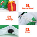6 ft Inflatable Christmas Tree with Gift Boxes Blow Up Decoration