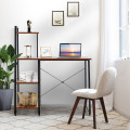 Compact Computer Desk Workstation with 4 Tier Shelves for Home and Office