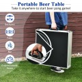 8 Foot Portable Party Drinking Game Table