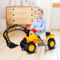 Outdoor Kids Ride On Construction Excavator with Safety Helmet