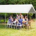10 x 20 Feet Steel Frame Portable Car Canopy Shelter