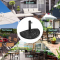 """17.5"""" Heavy Duty Square Umbrella Base Stand of 30 lbs for Outdoor"""