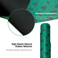 Portable Rubber Poker Mat Smooth Waterproof Surface Suitable for Multiplayer to Play