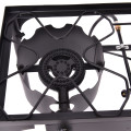 150000 BTU Double Burner Outdoor Stove BBQ Grill