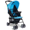 5-Point Safety System Foldable Lightweight Baby Stroller