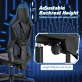 Gaming Chair with Adjustable Mesh Back