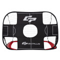 2-in-1 Portable Pop up Kids Soccer Goal Net with Carry Bag