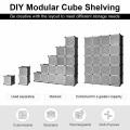20-Cube DIY Cube Storage Organizer Cube Closet Storage Shelves