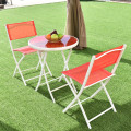 3 Pieces Patio Folding Bistro Set for Balcony or Outdoor Space