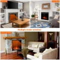"""22.5"""" Electric Fireplace Insert Freestanding and Recessed Heater"""
