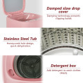 8lbs Portable Fully Automatic Washing Machine with Drain Pump
