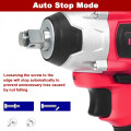 20V Cordless Impact Wrench Brushless with 4.0 AH Battery