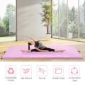 "4' x 10' x 2"" Thick Folding Panel Gymnastics Mat"