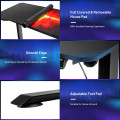 Electric Standing Gaming Desk with Height Adjustable Splice Board