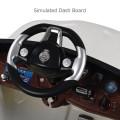 6V Kids Remote Control Battery Powered LED Lights Riding Car