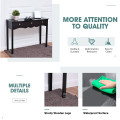 Hall table Side Table with 3 Drawers